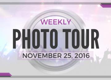 Weekly Photo Tour - November 25, 2016