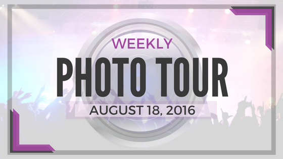 Weekly Photo Tour - August 18, 2016