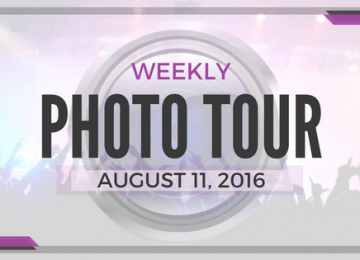 Weekly Photo Tour - August 11, 2016