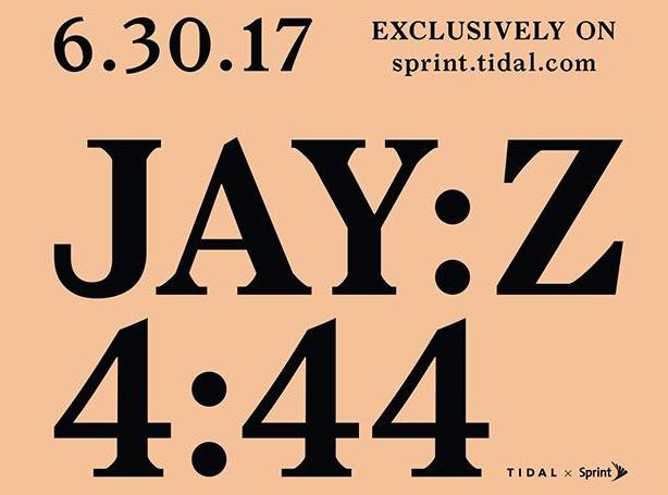 "Jay Z ""4:44"" Album To Be First In Series Of TIDAL, Sprint Exclusives"