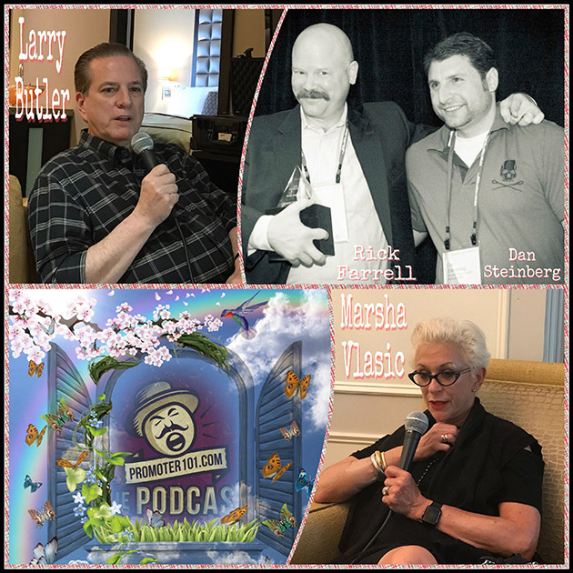 EPISODE# 45: AGI's Marsha Vlasic, Author, Larry Butler, ICM Partners' Rick Farrell