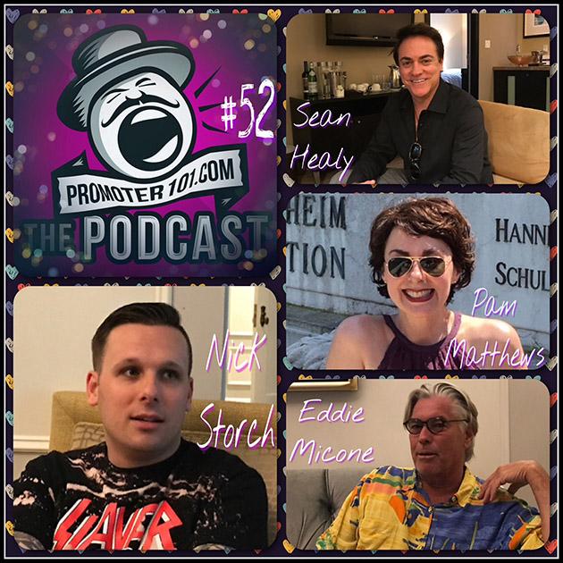 EPISODE #52: AGI's Nick Storch, Promoter Sean Healy, IEBA's Pam Matthews