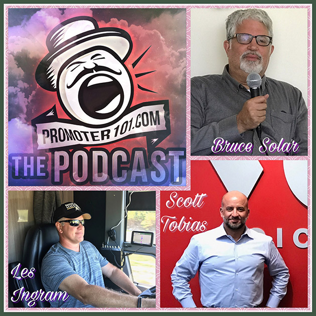 EPISODE #53: Voice Media's C.E.O. Scott Tobias, APA's Bruce Solar, Tour Driver Les Ingram