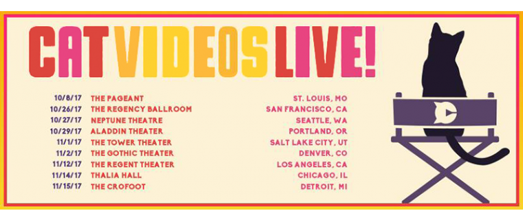 Cat Videos Live Tour Announces Updated Itinerary