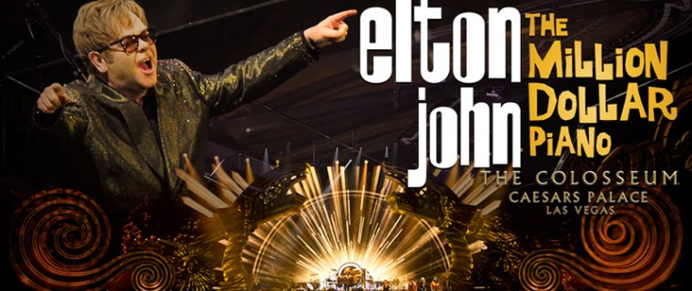Elton Announces Final Dates For Las Vegas Residency