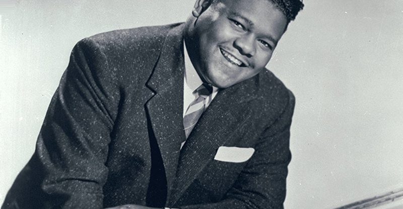 Rock N' Roll Legend Fats Domino Passes
