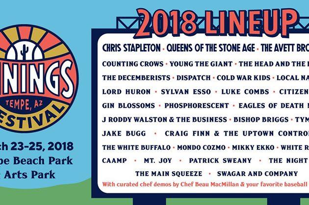 Live Nation Announces New Baseball-Themed Music Festival For Tempe