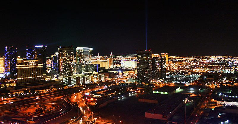 Curimedia - Las Vegas Skyline at night North