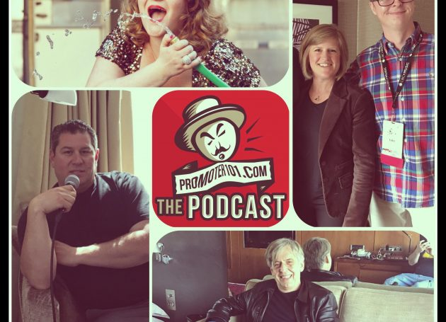 EPISODE #31: Rob Hallett, Live Nation's Patti-Anne Tarlton, Sacha Bambadji, & Amy Miller