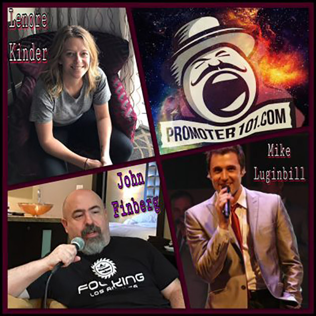 EPISODE #58: AEG Presents' Lenore Kinder, John Finberg, and Straight No Chaser's Mike Luginbill