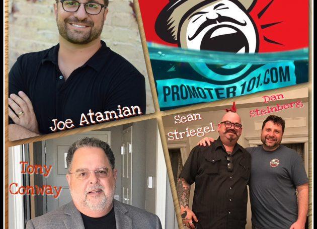 EPISODE #57: Paradigm's Joe Atamian, Live Nation's Sean Striegel, A Story from Tony Conway