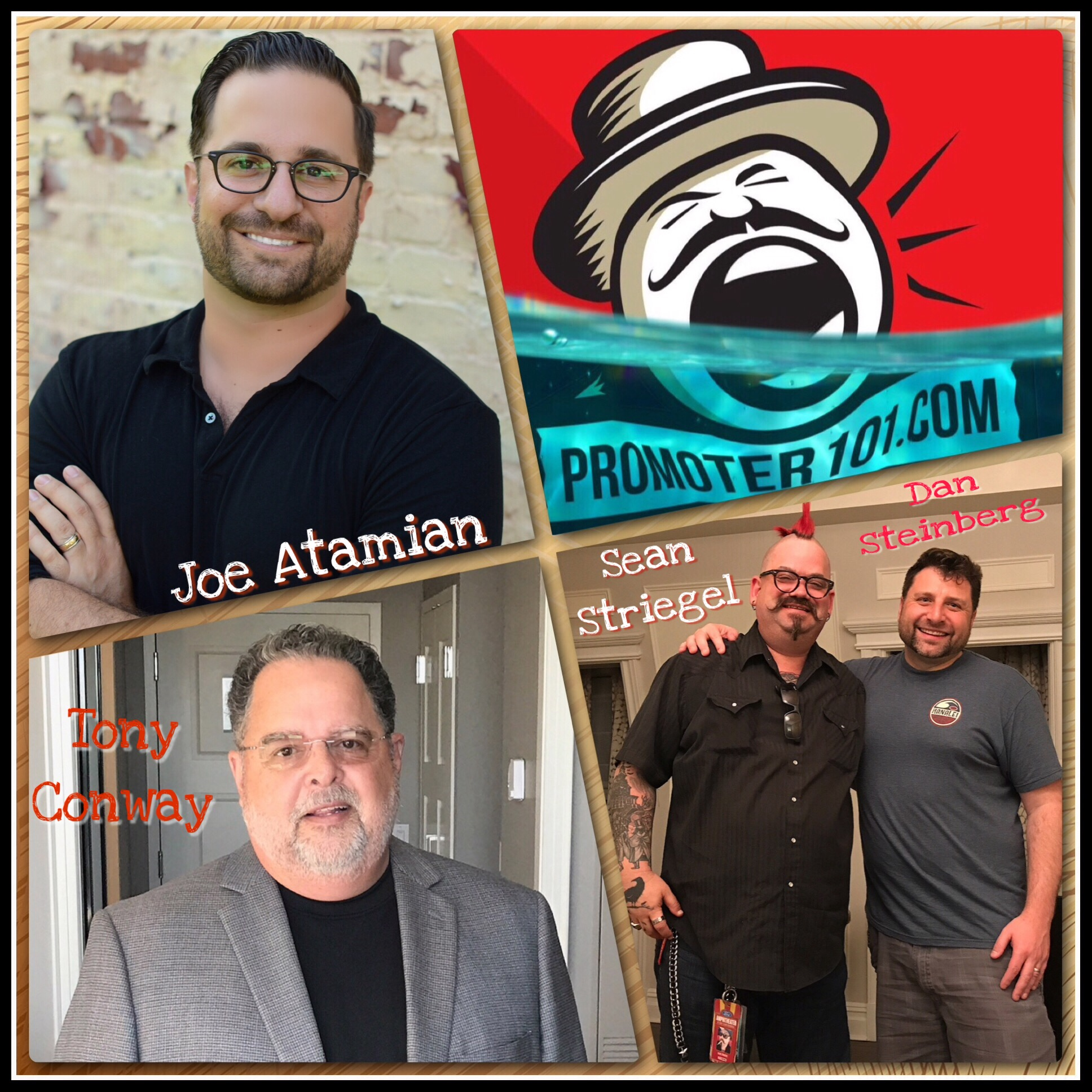 EPISODE #57: Paradigm's Joe Atamian, Live Nation's Sean Striegel, A Story from Tony Conway