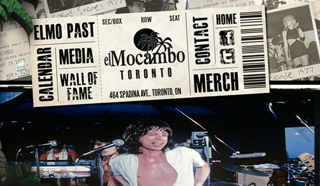 Toronto's El Mocambo Partners With Ticketmaster Canada