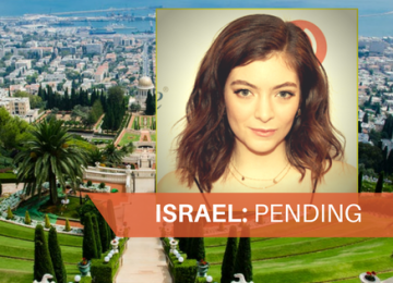 Lorde May Bow To BDS Boycott and Not Come to Israel