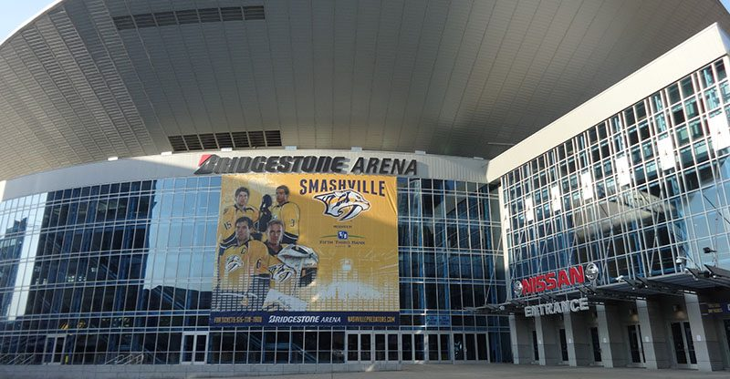 Bridgestone Signs Five Year Naming-Rights Extension At Nashville Arena