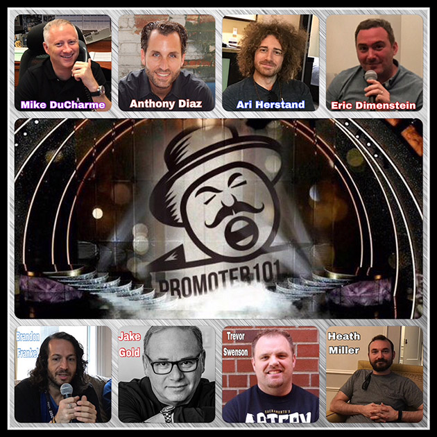 EPISODE #63: AEG's Mike DuCharme, Anthony Diaz, Eric Dimenstein, Ari Herstand, Heath Miller
