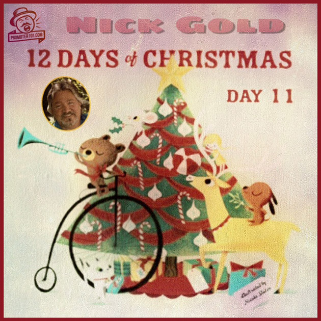 Twelve Days of Christmas DAY 11: - Featuring Entertainment Travel's Nick Gold