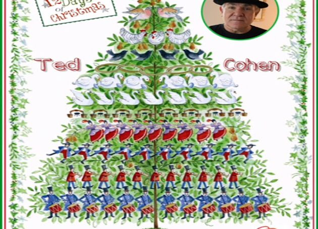 Twelve Days of Christmas DAY 4: Record Industry Icon Ted Cohen