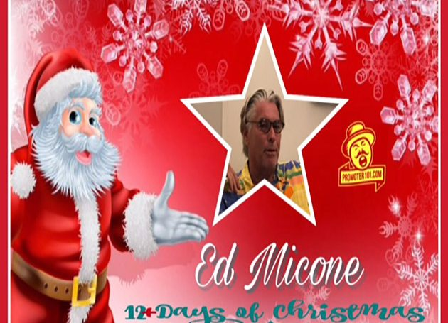 Twelve Days of Christmas DAY 6: New York City Mogul Ed Micone