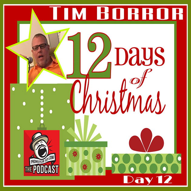 Twelve Days of Christmas DAY 12: United Talent Agency's Tim Borror