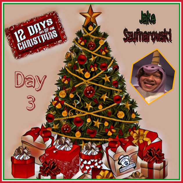 Twelve Days of Christmas DAY 3 - Rocks Off's Jake Szufnarowski