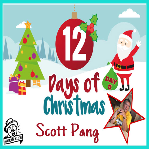Twelve Days Of Christmas DAY 8: ICM Partners' Scott Pang