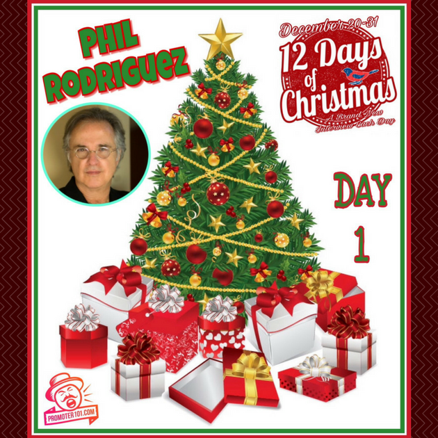 Twelve Days of Christmas DAY 1: Featured Guest - Move Concerts' Phil Rodriguez