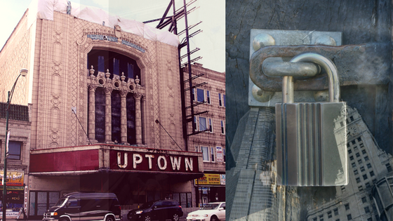 Chicago's Celebrated Uptown Theatre Remains Dark