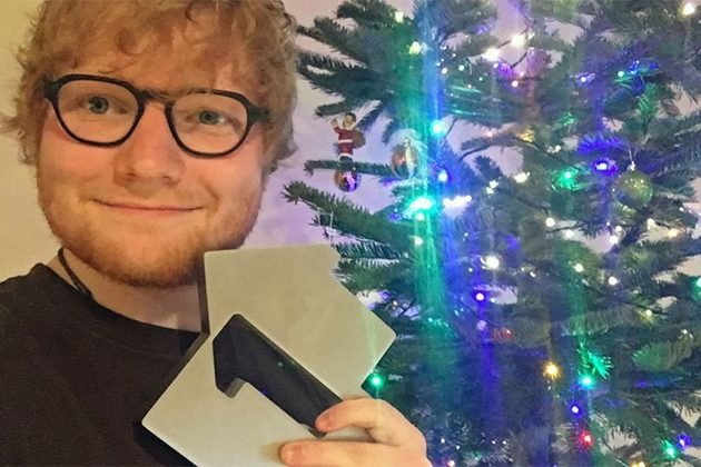 Ed Sheeran Scores First X-mas #1's In UK And Ireland