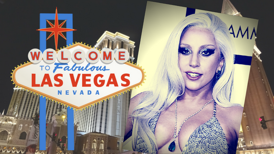 Vegas Bound Lady Gaga