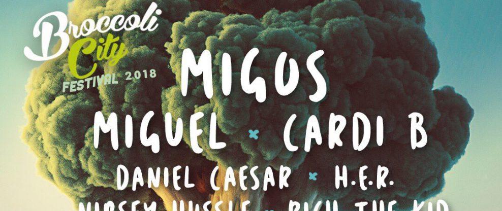 Broccoli City Festival Announces 2018 Lineup