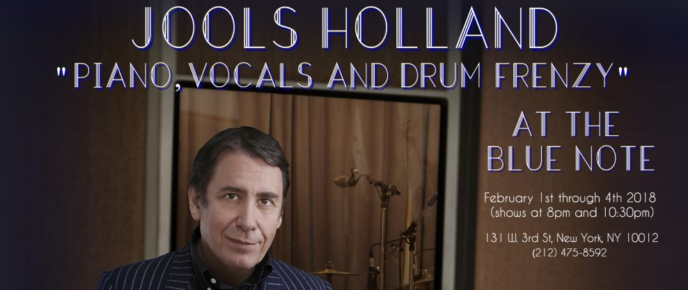 Jools Holland Plays First U.S. Dates In 20 Years