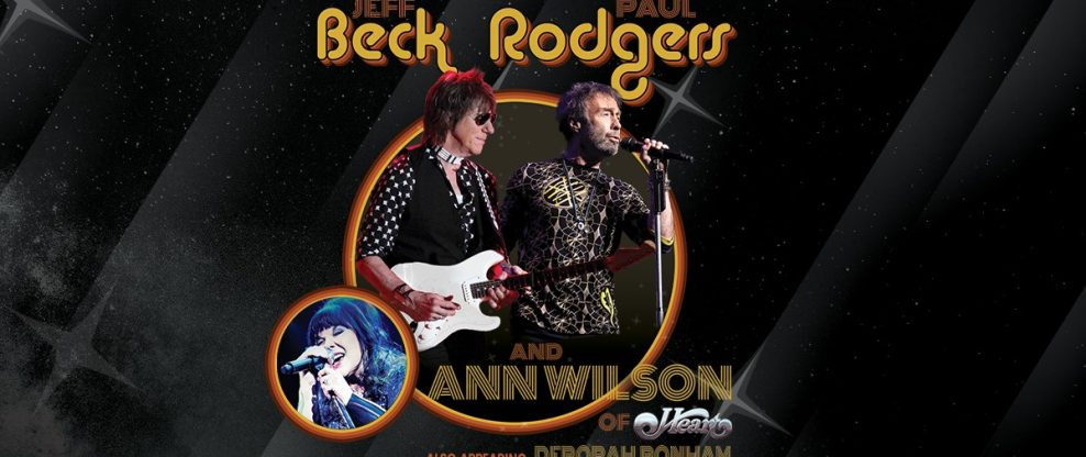 Jeff Beck & Paul Rodgers + Ann Wilson Announce 'Stars Align Tour'