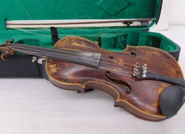 Goodwill Returns Mistakenly Donated One-Of-A-Kind Roy Acuff Fiddle