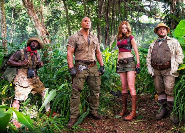 """Jumanji"" Tops Weekend Box Office Again, Star Wars Sinks In China"