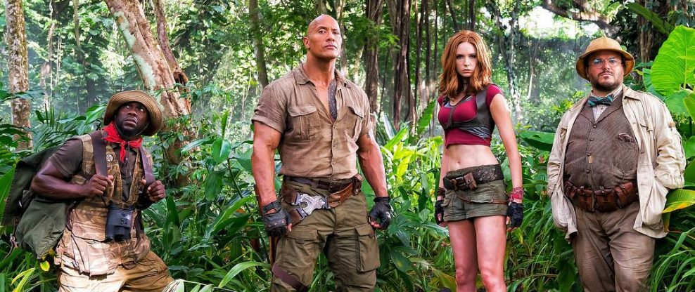 "Sony's ""Jumanji"" Closes In On $1Bn"
