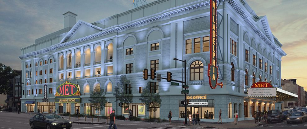 New Loans For Philadelphia's Metropolitan Opera House To Allow Construction To Continue
