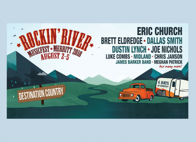 Live Nation Announces Partnership With Canada's Rockin' River Music Fest