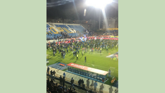 Stadium Evacuated In Portugal After Cracks Found In Stands