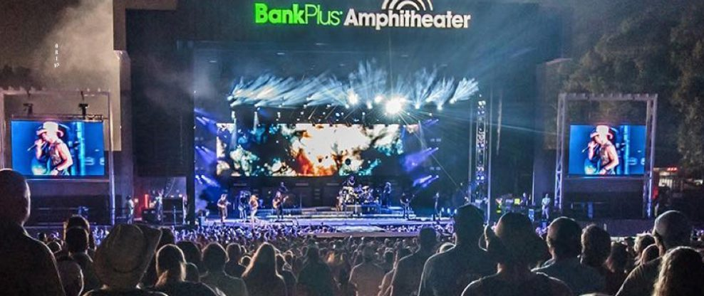 Live Nation Signs Exclusive Booking Deal With BankPlus Amphitheater