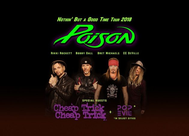 Poison, Cheap Trick And Pop Evil Teaming Up For A Package Tour Set To Hit The Road This Summer