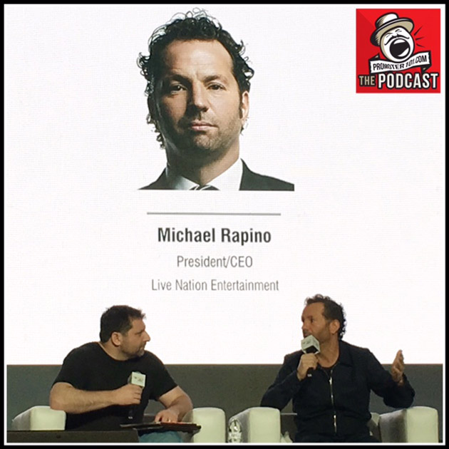 Episode #70: Live Nation's CEO Michael Rapino Recorded at Pollstar Live 2018