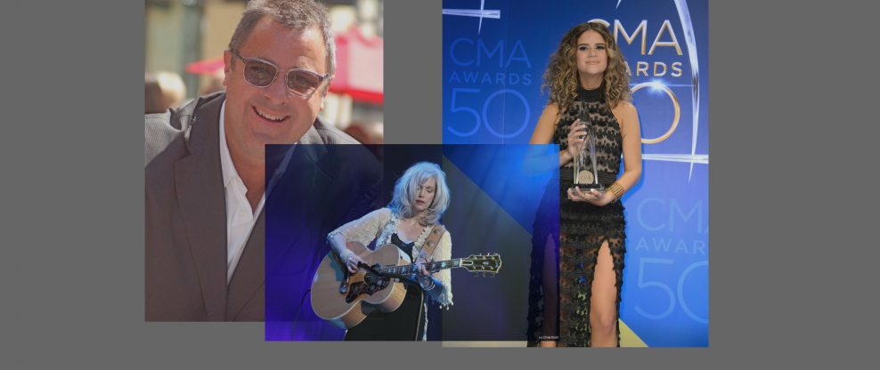 Vince Gill, Maren Morris, Emmylou Harris Talk #GrammysSoMale