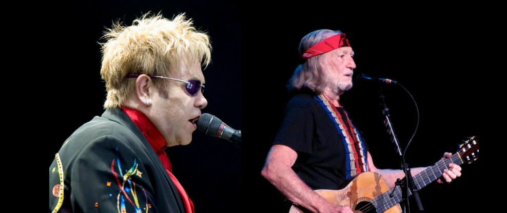 Elton John Adds Dates, Willie Nelson Reduces Them