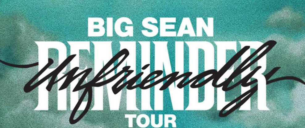 Big Sean Announces North American Run