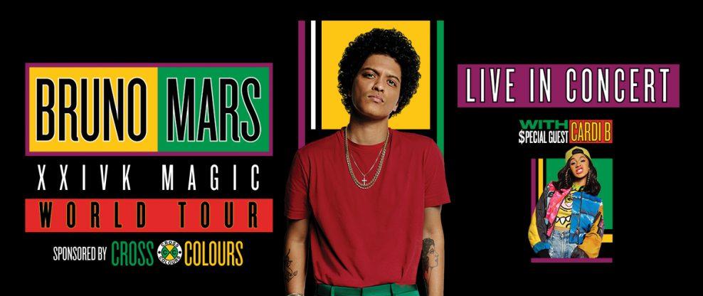 Bruno Mars Announces Final North American Tour Dates