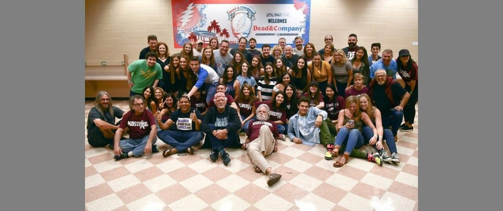 Dead & Company Welcome Marjory Stoneman Douglas High School Students And Teachers Backstage At Florida Concert