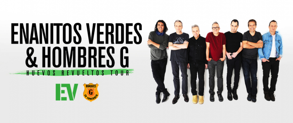 Enanitos Verdes and Hombres G Teaming Up For Double Bill
