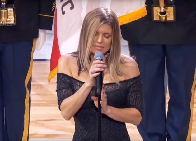 Fergie's Version Of National Anthem Not Proudly Hailed