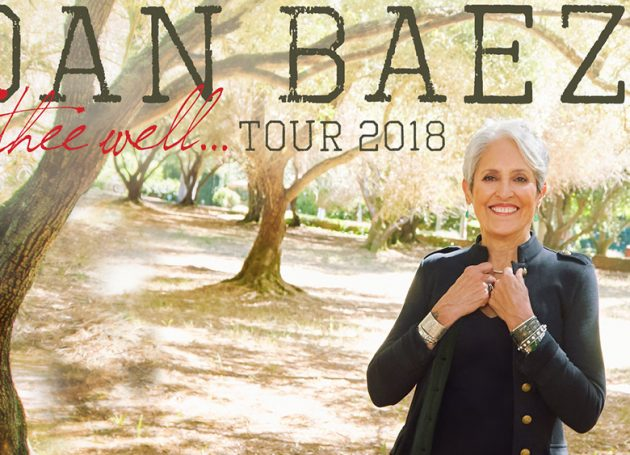 Joan Baez With New LP & Farewell Tour